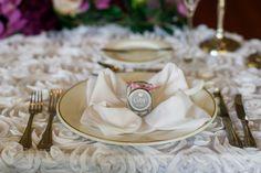 Wedding Guest Favors - Wedding Ballroom - Purple Wedding at the Golden Ocala Golf and Equestrian Club - Photo: Jessica Friend Photo Design - Click Pin for more - Orange Blossom Bride - www.orangeblossombride.com
