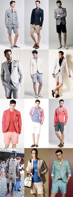 The Shorts Suit -- could the huzz pull this off?  I'd definitely have to wear a short dress.