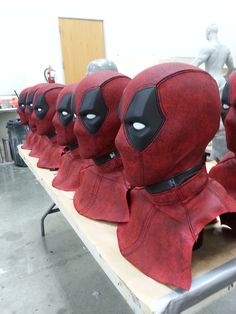 A behind the scenes look at the construction of Ryan Reynold's Deadpool costume. #marvel #movies