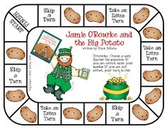 First Grade a la Carte: Just in case. Holiday Activities, Classroom Activities, Book Activities, Classroom Ideas, Language Activities, Future Classroom, Tomie Depaola Books, Fete Saint Patrick, St Patrick Day Activities
