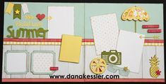 (pin 1 of 3)... workshop layout by Dana Kessler using CTMH Happy Times paper