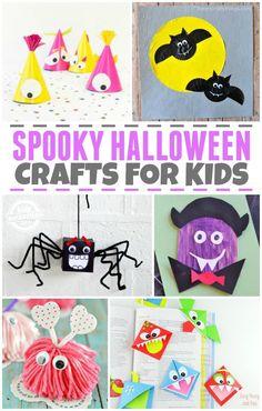 20 Halloween Crafts for Kids