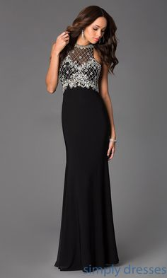 Shop Simply Dresses for beaded tank formal dresses. Wear jersey floor length dresses for sleek prom, gala military balls, wedding receptions.