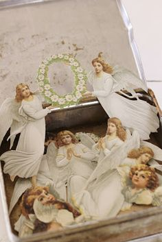 Vintage angels