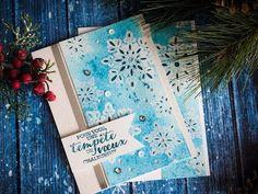 Carte de Noël technique par Marika Lemay - www.lamagiedesetampes.com - YouTube