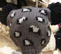 Snug leopard print knitted hat from River Island, to keep the winter chills at bay!