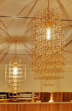 Hoi Polloi. Pendant lights by canadian designer philippe malouin