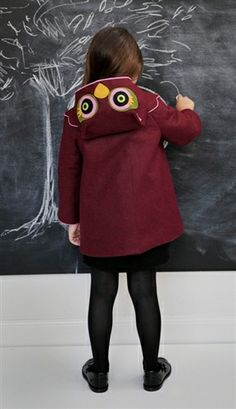 Owl Coat MADE IN USA