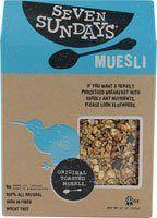 Seven Sundays - Muesli All Natural Original Toasted - 12 oz. - http://sleepychef.com/seven-sundays-muesli-all-natural-original-toasted-12-oz/