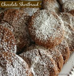 Chocolate Shortbread {Recipe}