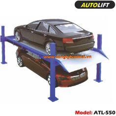 Cầu nâng 4 trụ đậu xe Model: ATL-550 Kích thước: 4600*2600*2080mm Trọng lượng cầu đậu xe: 2,2-2,5 Tấn Tốc độ nâng: 2,2m/ phút Môtơ: 2,2 KW Hoạt động: ấn nút / điều khiển từ xa Phương pháp điều khiển: PLC Dẫn động: Xích + thủy lực http://congtybanmai.vn/cau-nang-dau-xe-4-tru-atl-550-4048702.html