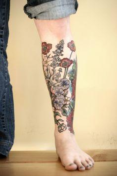 Kirsten Holliday | Wonderful Nature Tattoos | Martineken Blog