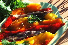 Recette de tapas : poivrons marinés (Espagne)