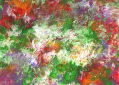 Aid for Abby  Original Painting  9 x 12  Abstract by AidforAbby, $12.99