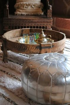 Current obsession: Indian Chakki Tables...