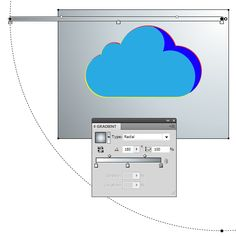 How to Create Glass Cloud Icon in Illustrator - Illustrator Tutorials - Vectorboom