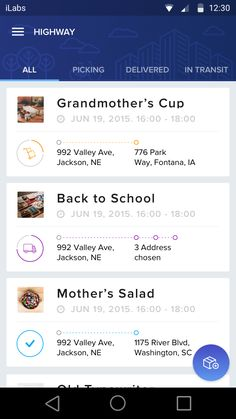 Tracking Listing – App by Hoang Nguyen