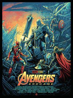 """""""Avengers: Endgame"""" by Dan Mumford - NYCC Exclusive Marvel Comics, Marvel Films, Marvel Fan, Marvel Memes, Marvel Universe, Logo Super Heros, Dan Mumford, The Avengers, Avengers Wallpaper"""