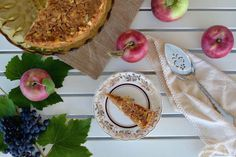 Pear and Apple Bread Pudding from Lake Como
