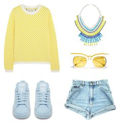 """""""Без названия #2"""" by lenka-i ❤ liked on Polyvore featuring Marni, adidas and Forever New"""