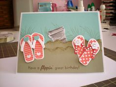TLC386 Make a Beach by staff2 - Cards and Paper Crafts at Splitcoaststampers