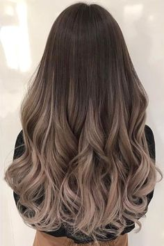 Balayage and ombre hair. Hair color ideas and trends for 20 Hairstyles hair ideas. Balayage and ombre hair. Hair color ideas and trends for 20 - - Hairstyles hair ideas. Balayage and ombre hair. Hair color ideas and trends for 20 - - Curly Hair Styles, Girls Long Hair Styles, Ombre Hair Styles, Hair Color Balayage, Ash Brown Balayage, Balayage Hair Brunette Long, Ombre Hair Color For Brunettes, Ash Brown Ombre, Ombre For Long Hair