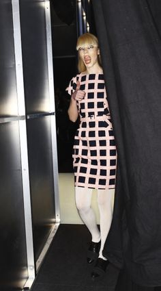 Backstage at the Marimekko A/W13 fashion show by Sonny Vandevelde