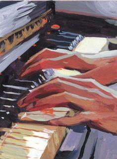 Piano Art, Guache, Art Hoe, Ap Art, Pretty Art, Art Sketchbook, Aesthetic Art, Art Inspo, Amazing Art