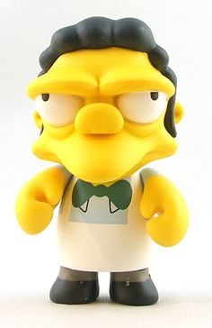 "Toy120 "" Moe Szyslak"" by Matt Groening / Simpsons Series for Kid Robot (2010) #Toy"