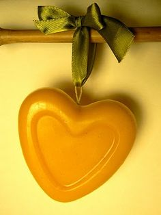 The Magic Onions :: A Waldorf Inspired Blog: Make Beeswax Hearts for Valentines Day.