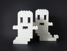 These are insanely cute... and a perfect decoration for all #Halloween parties! #jobdone #SpookifyYourSet #LEGODUPLO