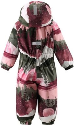 A cozy winter snowsuit for toddlers  the seam-sealed Reima Puhuri Reimatec delivers warmth and has extra insulation in the seat for playing in the snow. Cozy Winter, Snow Suit, Insulation, Toddlers, Overalls, Rompers, Products, Fashion, Young Children