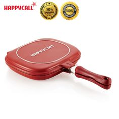 Happycall Nonstick Double Sided Pressure Titanium Standard Frying Pan Cooking #Happycall