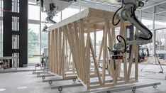 Gallery of ETH Zurich Uses Robots To Construct Three-Story Timber-Framed House - 1