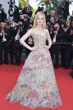 The most glamorous style at Cannes Film Festival 2017: Elle Fanning (Slide 1)