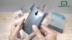 Trên tay Bao da Nokia X2 Nillkin Sparkle - Đồ Chơi Di Động .com