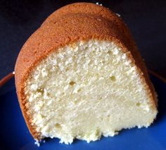Cream Cheese Pound Cake   ***you won't be able to stop eating this amazing cake***