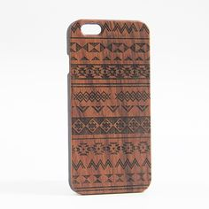 Ethnic Tribal Real Wood Engraved iPhone 6 Case/Plus/5s/5 – Acyc