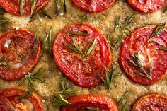 Whole Wheat Focaccia with Tomatoes and Fontina Recipe - NYT Cooking