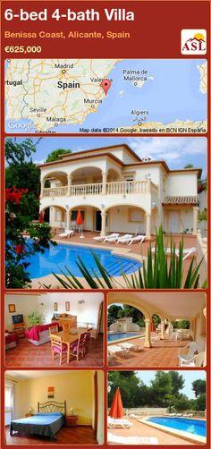 6-bed 4-bath Villa in Benissa Coast, Alicante, Spain ►€625,000 #PropertyForSaleInSpain