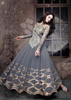 Pakistani Embroidery Shalwar Kameez Dresses 2015-16 For Ladies