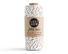 The Original Gold Glitter Twine / 100 Yards by knotandbow on Etsy