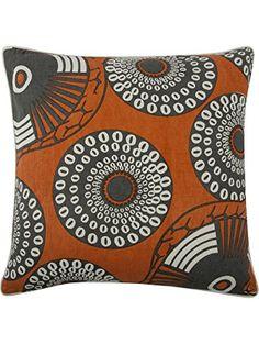 thomaspaul Yinka Pillow, 22-Inch, Alcazar ❤ Thomas Paul