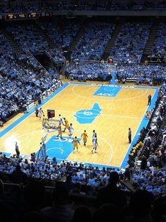 The Dean Dome. Chapel Hill. Go UNC!