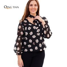 Click to Buy    QING TIAN 2017 Big Size Fashion Women Clothing Casual.    25f67c1f2487