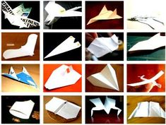 Origami Airplanes - Photo and  Video Gallery