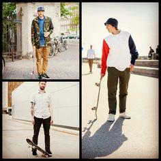 "Menswear Monday: ""The Skatorialist"" skate style blog today on fashiongrunge.com! #skateboarding #skatestyle"