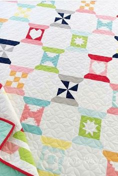 Pinwheel spool quilt