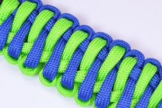 "How to Create the ""Cows Tongue"" Paracord Survival Bracelet - BoredParacord"