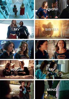 The Danvers Sisters - Supergirl - Kara Danvers - Alex Danvers